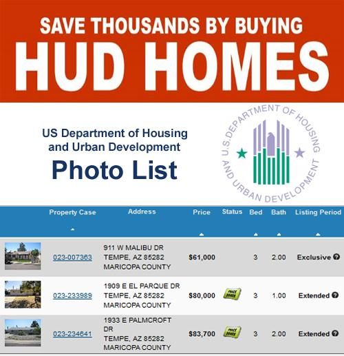Save Thousands by buying a HUD Home